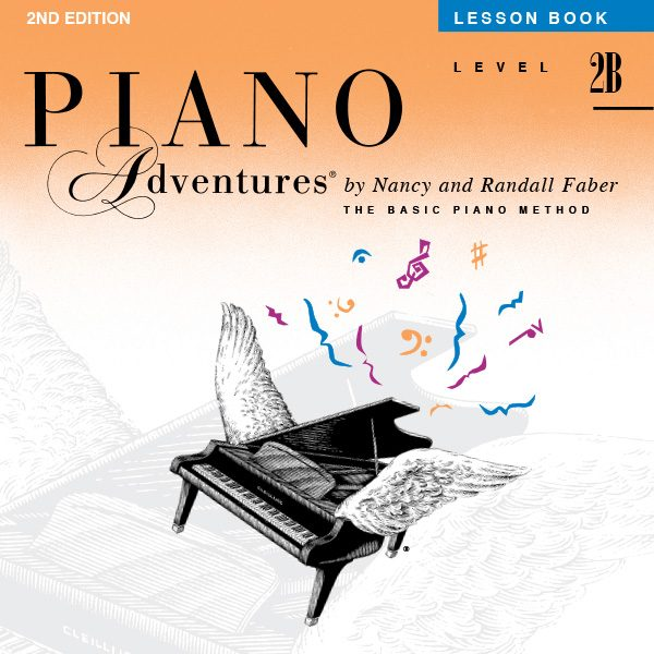 Piano Adventures® Level 2B Lesson Book Play-Along Audio