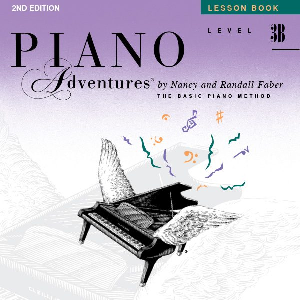 Piano Adventures® Level 3B Lesson Book Play-Along Audio