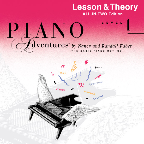 Piano Adventures® Level 1 Play-Along Audio (All-in-Two Edition)
