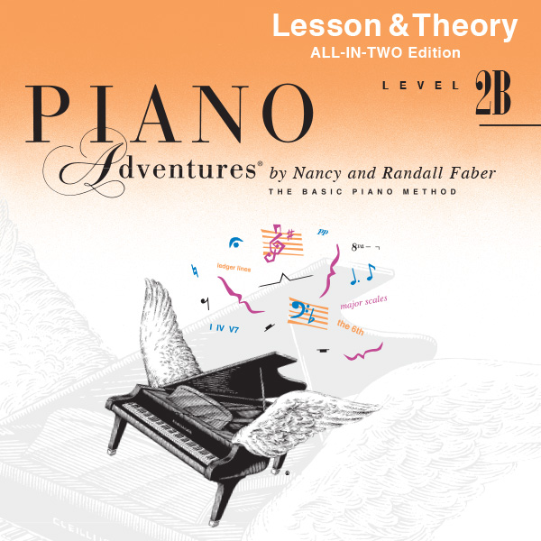 Piano Adventures® Level 2B Play-Along Audio (All-in-Two Edition)