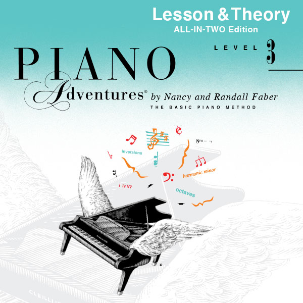 Piano Adventures® Level 3 Play-Along Audio (All-in-Two Edition)