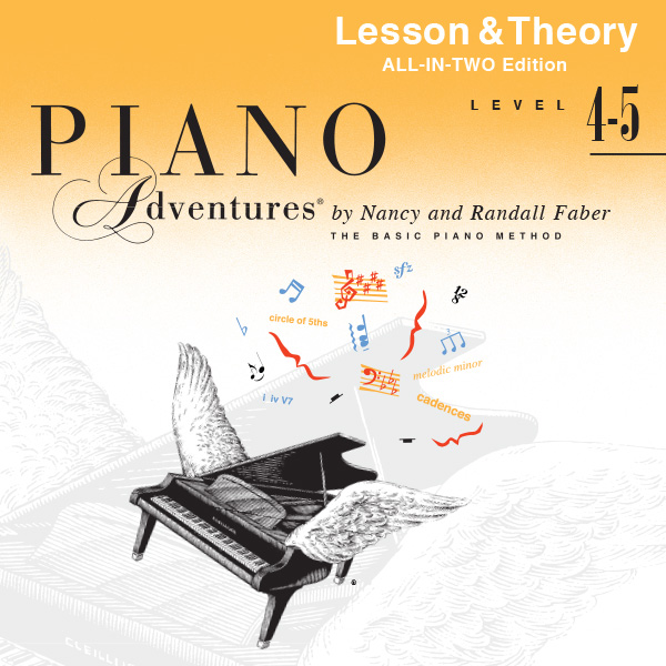 Piano Adventures® Level 4-5 Reference Audio (All-in-Two Edition)
